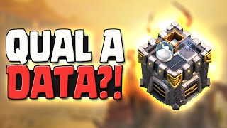 DATA DE LANÇAMENTO DO NOVO CLAN DO CANAL - CLASH OF CLANS