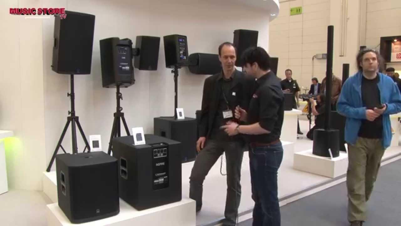 Turbosound iNSPIRE iP12B iP15B Subwoofer PA Speaker Musikmesse 2015  (english)