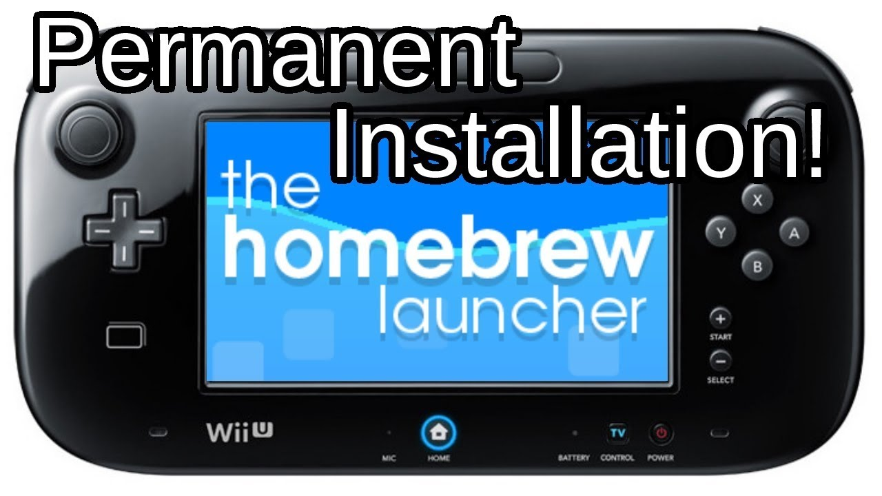 Install homebrew launcher channel wii u | Peatix