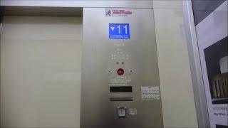 フジテックエレベーター 宇都宮市役所 1~6号機 Part1【FullHD】