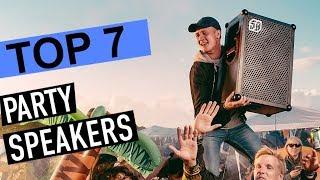 BEST PARTY SPEAKERS! (2020)