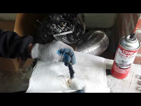 Mercedes Fuel Injector Replacement/Cleaning
