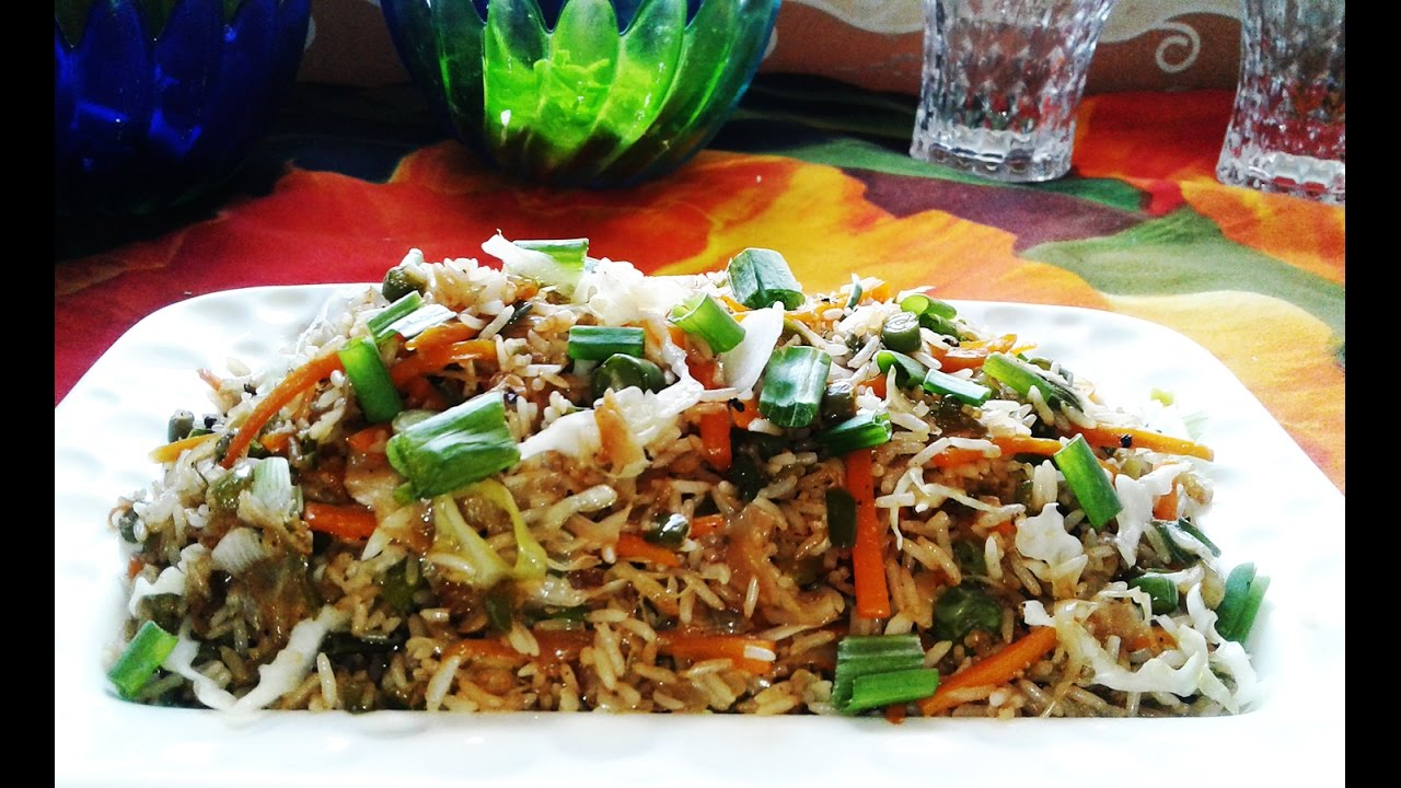 Chinese fried rice recipe restaurant style vegetable fried rice chinese fried rice recipe restaurant style vegetable fried rice recipe video forumfinder Image collections