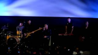 One Republic performs at Ziegfeld Theater during #TheGiver movie premiere in NYC