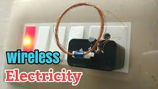 Wireless Electricity | BC 547 Transistor