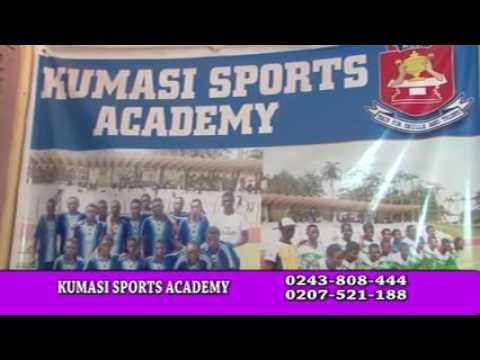 Kumasi Sports Academy adverts english version