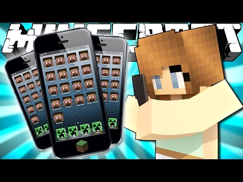 Thumbnail: If Phones were Added to Minecraft