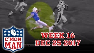 ESPN C'MON MAN! Week 16 - 12-25-17