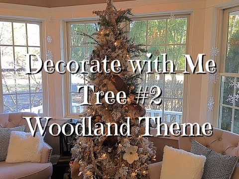 Woodland Themed Tree How-To Guide Dollar Store Ornaments