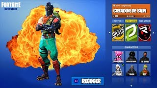 Create YOUR Own CUSTOM SKIN FOR FREE at Fortnite Battle Royale