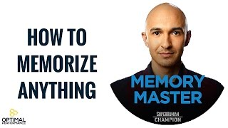 Memory Master Luis Angel: How To Memorize Anything