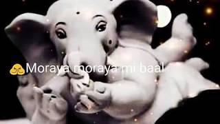 """Morya morya mi baal tahne""""marathi"""" short lyrics video song"""