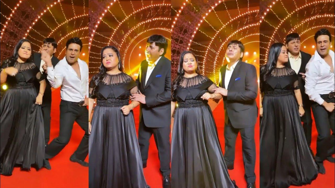 Bachapan Ka Pyar mera Bhul Nahi Janna Funny Bharti with Krishna 😂😂 Dance funny #shorts