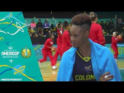 Virgin Islands v Colombia - Post Game Show - FIBA Women's AmeriCup 2017