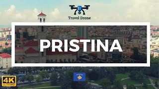 Pristina, Kosovo 4K 🇽🇰 - Cinematic Drone Footage