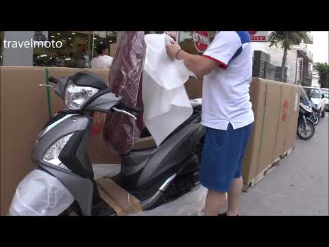 Repeat SYM JoyRide 200cc scooter 2018 (test drive) by