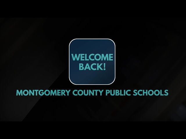 Welcome Back MCPS 2020