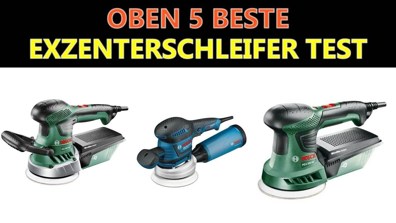 beste exzenterschleifer test 2019 - youtube