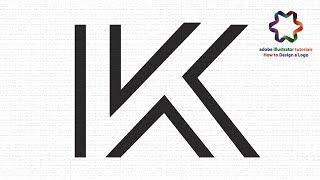 illustrator tutorial - Letter Logo Design Tutorial - Create a Line Text Effect