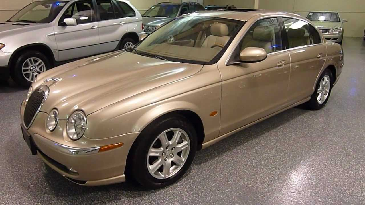 Elegant 2003 Jaguar S TYPE 4dr Sedan V6 SOLD (#2164)