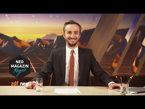 Conangate - a message to Conan O`Brien | #askadi NEO MAGAZIN ROYALE mit Jan Böhmermann - ZDFneo