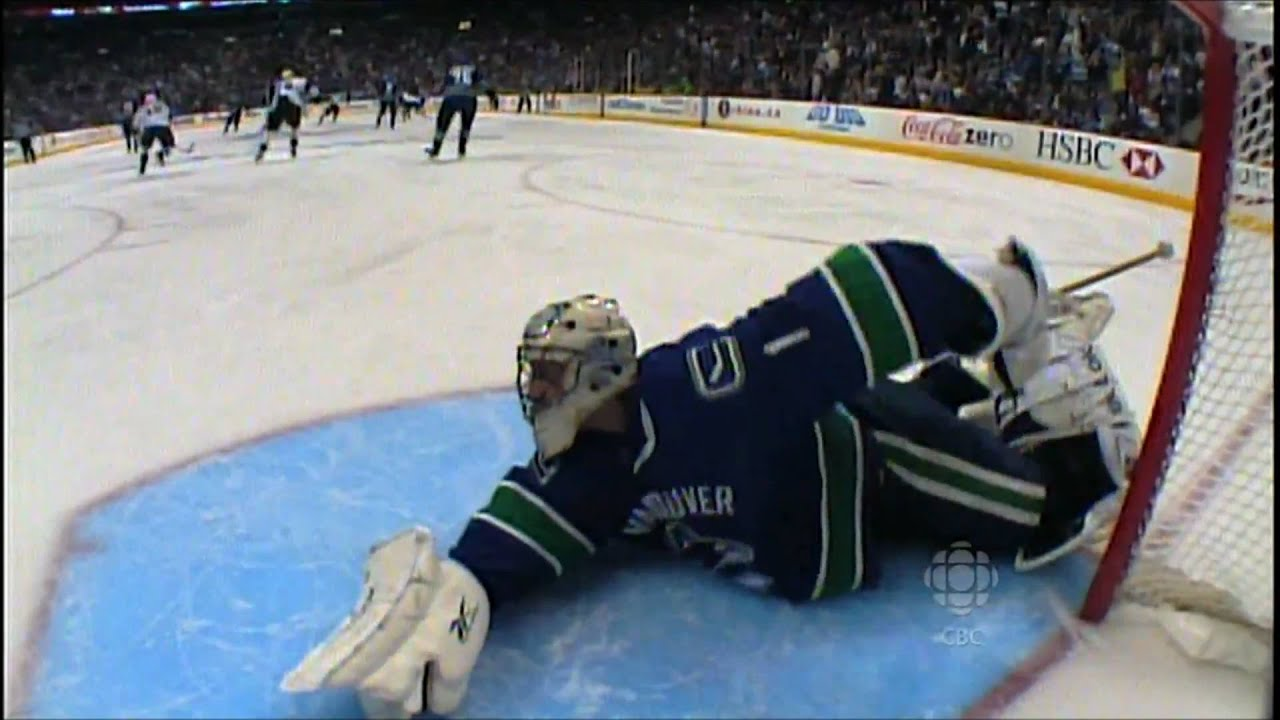 Roberto Luongo Top 5 Saves Youtube