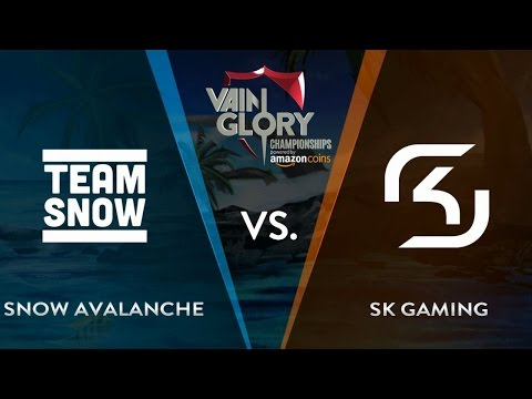 SNOW Avalanche vs SK Gaming - Group Stage | Vainglory Summer Championship Europe 2016