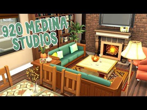 920 Medina Studios    The Sims 4 Apartment Renovation: Speed Build