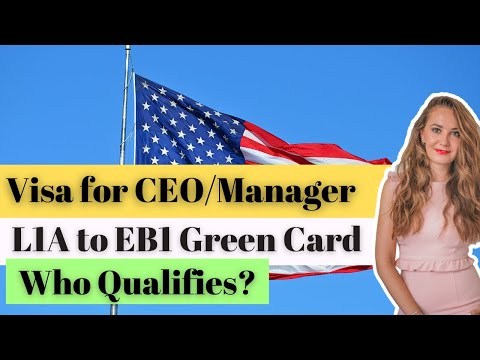 How Can L1A Manager Apply For EB1 Green Card