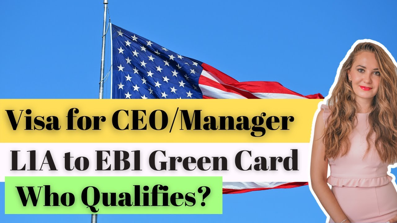How Can L1a Manager Apply For Eb1 Green Card Youtube