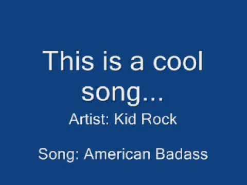 Kid Rock - American Badass