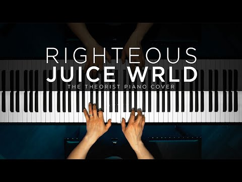 Juice WRLD - Righteous   The Theorist Piano Cover