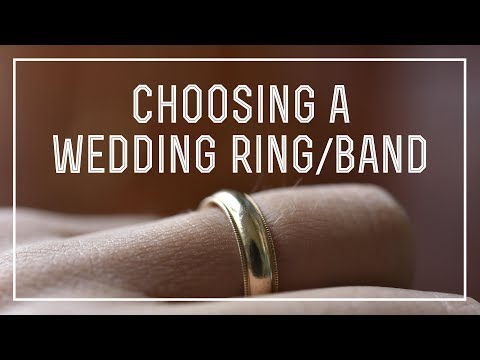 How To Choose A Wedding Band Ring