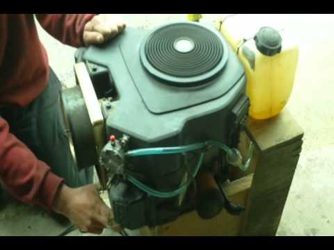Kohler Twin Cylinder 20 Hp Vertical Shaft Lawnmower Engine