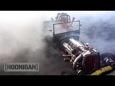 [HOONIGAN] DT 059: Fastest Rat Rod in Long Beach (1927 Twin Turbo LS T-Bucket w/Nitrous )