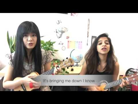 The Show - Lenka - Ukulele Duet - Covered by Yiqing and Deepthi