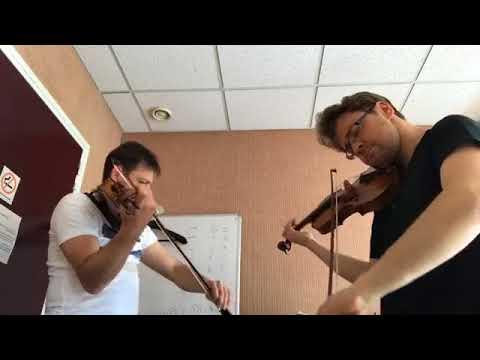 Handel Halversen Passacaglia - Alexander Sitkovetsky with Maxim Rysanov