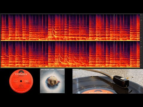 Jean Michel Jarre  - Oxygene (vinyl:full Album With Spectral Frequency Display)