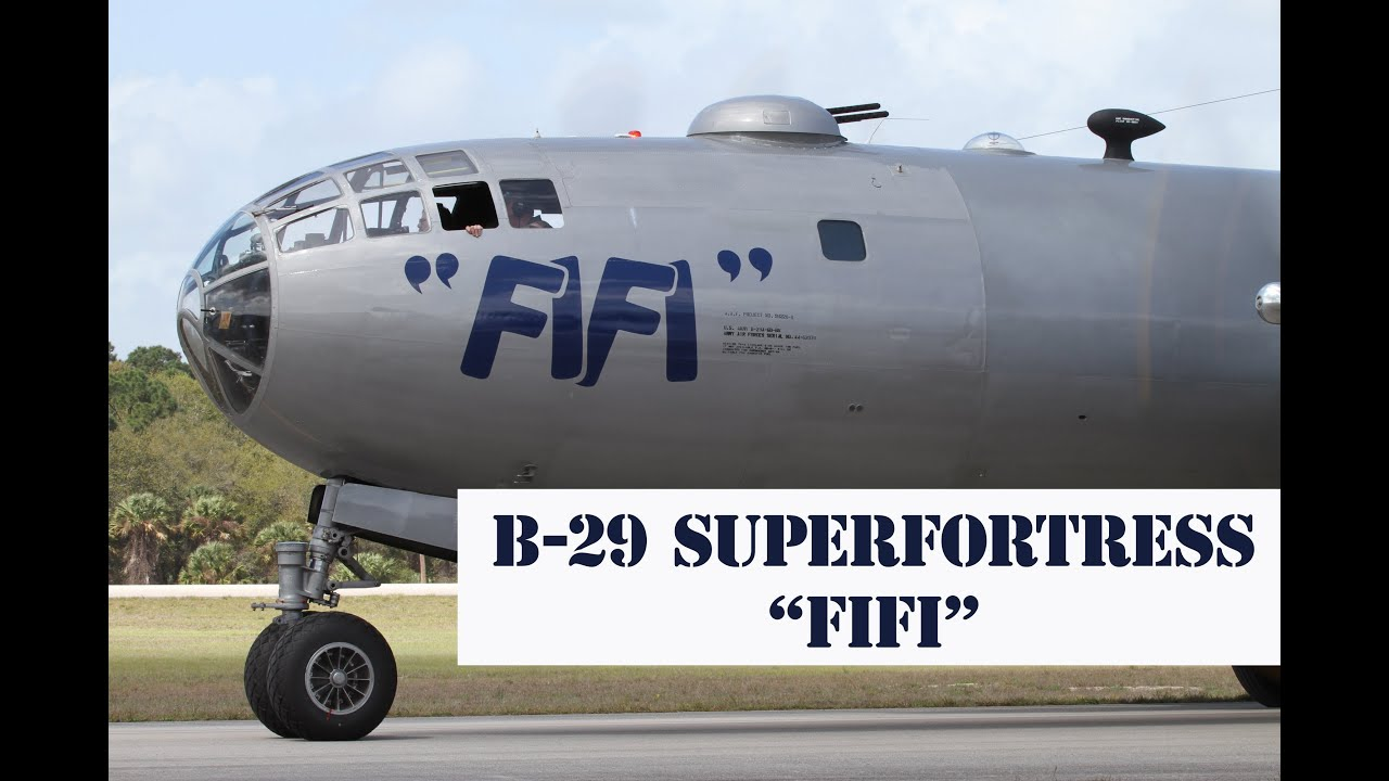 b 29 superfortress fifi at the mid atlantic air museum ww2 weekend