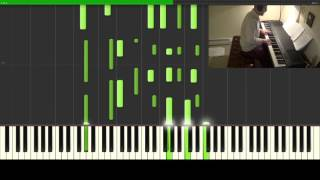 Undertale - His Theme/Undertale (Piano Tutorial/Synthesia)
