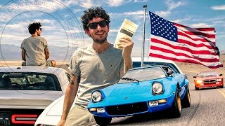 USA on the Road: Lancia Stratos & 037 + Dodge Challenger - Davide Cironi Drive Experience (SUBS)