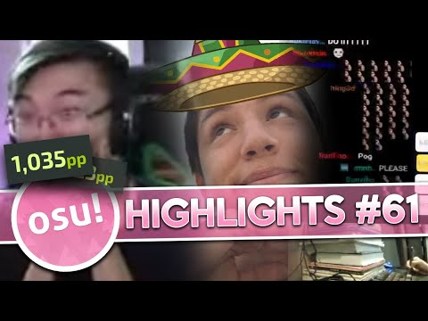 Vaxei and idke get 1000pp and More! | osu! Stream Highlights #61