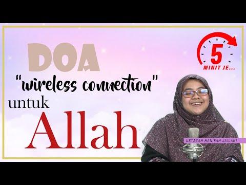 5 Minit Jer Ep 3: Doa 'wireless connection' untuk  Allah