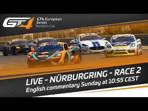 GT4 European Series Northern Cup - Nürburgring 2017 - Race 2 - LIVE