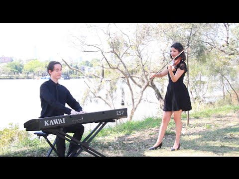 Franki Valli - Can't Take My Eyes Off You (piano, violin, instrumental cover)