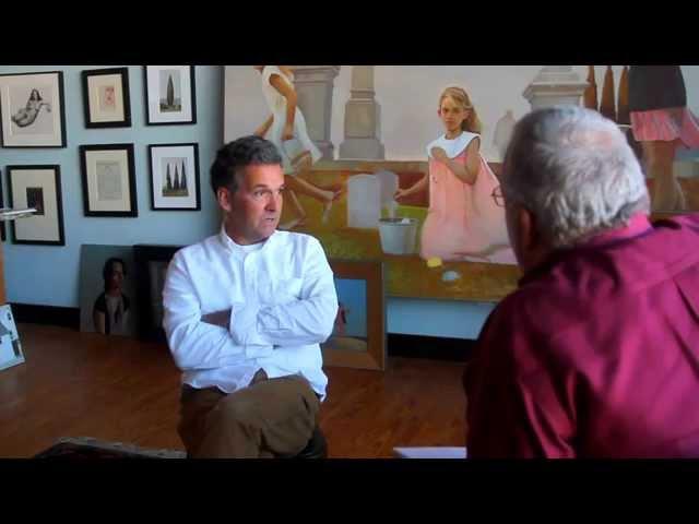 Artist Bo Bartlett Sunday Interview