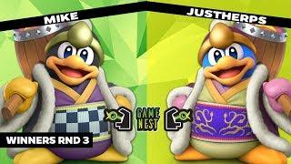 Game Nest Smash It Up: Mike (King Dedede) vs Justherps (King Dedede) - Winners Round 3
