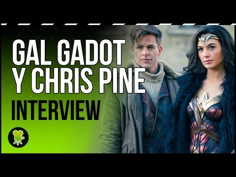 Gal Gadot teaches Chris Pine how to be a