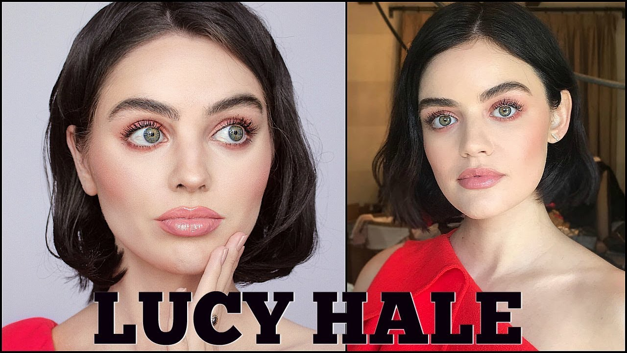 Lucy Hale S Everyday Makeup Tutorial Pretty In Pink Summer Makeup Youtube