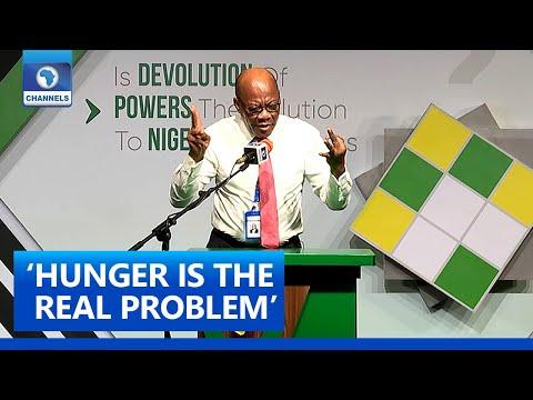 Nigeria's Problem Is Hunger Not Devolution - Olisa Agbakoba   The Platform Pt. 5